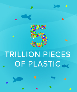 eight million plastic tons