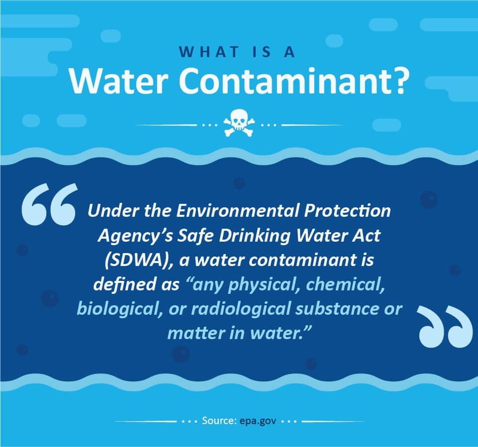 a water contaminant